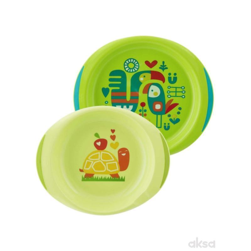 Chicco set tanjira, zeleni