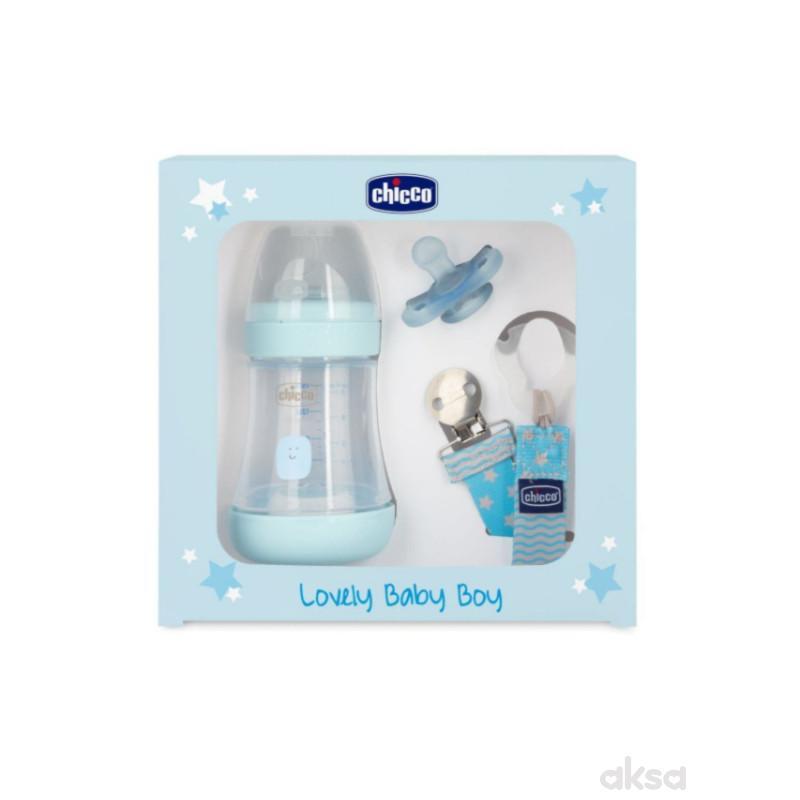 Chicco poklon set P5 plavi