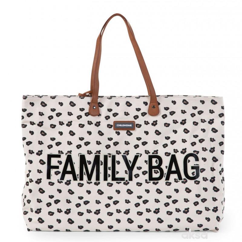 Child home Family Bag, Torba leopard
