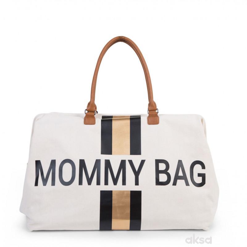Child home Mommy Bag Big, Ručna torba cr.zl.pruge
