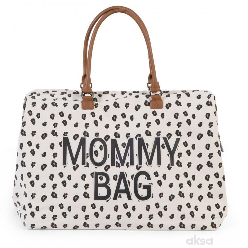 Child home Mommy Bag Big, Ručna torba leopard
