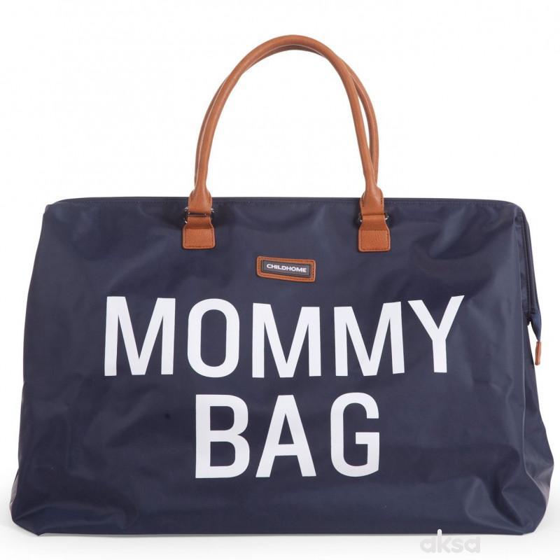 Child home Mommy Bag Big, Ručna torba navy