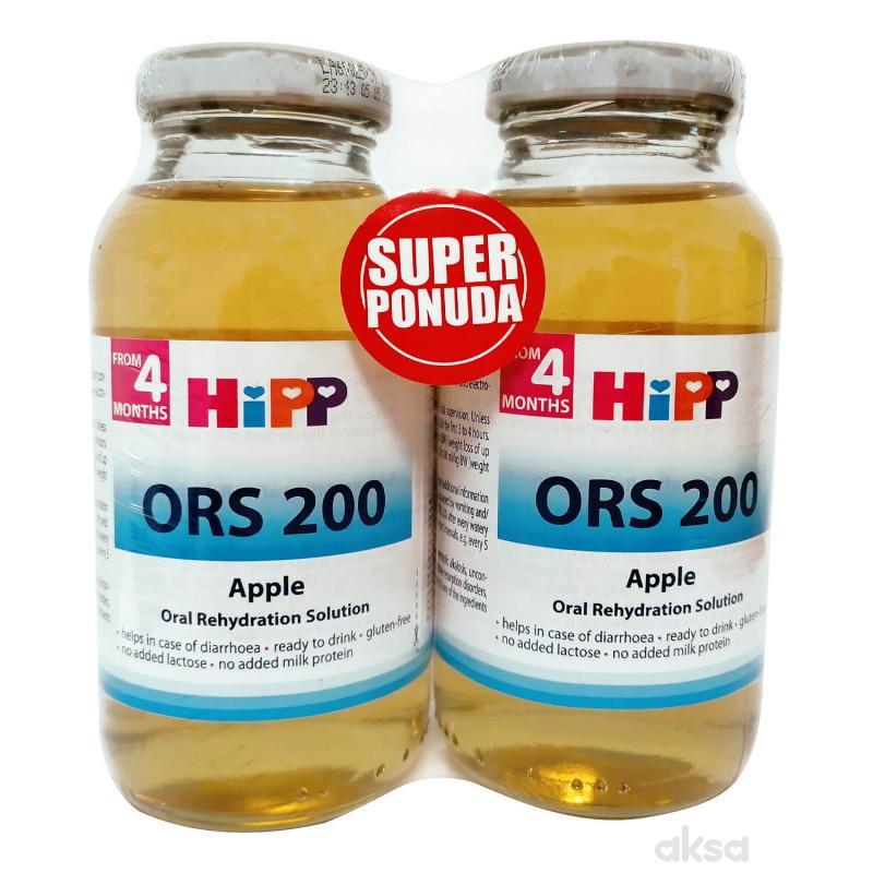Hipp kopak ORS napitak jabuka 200ml  1+1