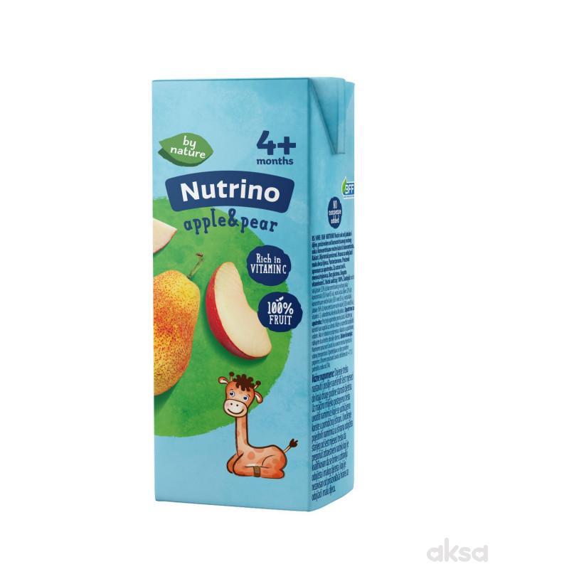 Nutrino sokić jabuka i kruška 200ml