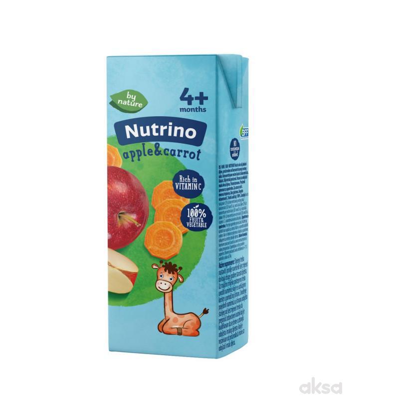 Nutrino sokić jabuka i šargarepa 200ml