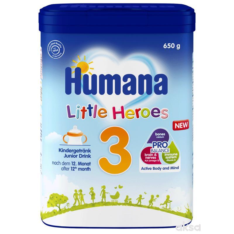 Humana mleko Junior 3 MP 650g