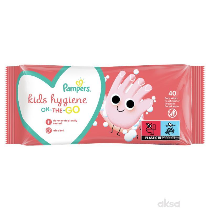 Pampers kids hygiene vlažne maramice 40kom