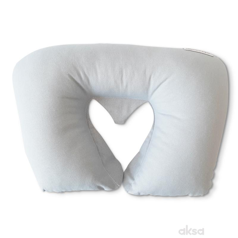 Lillo&Pippo putni jastuk siva