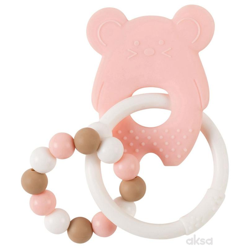 Nattou glodalica miš, roze