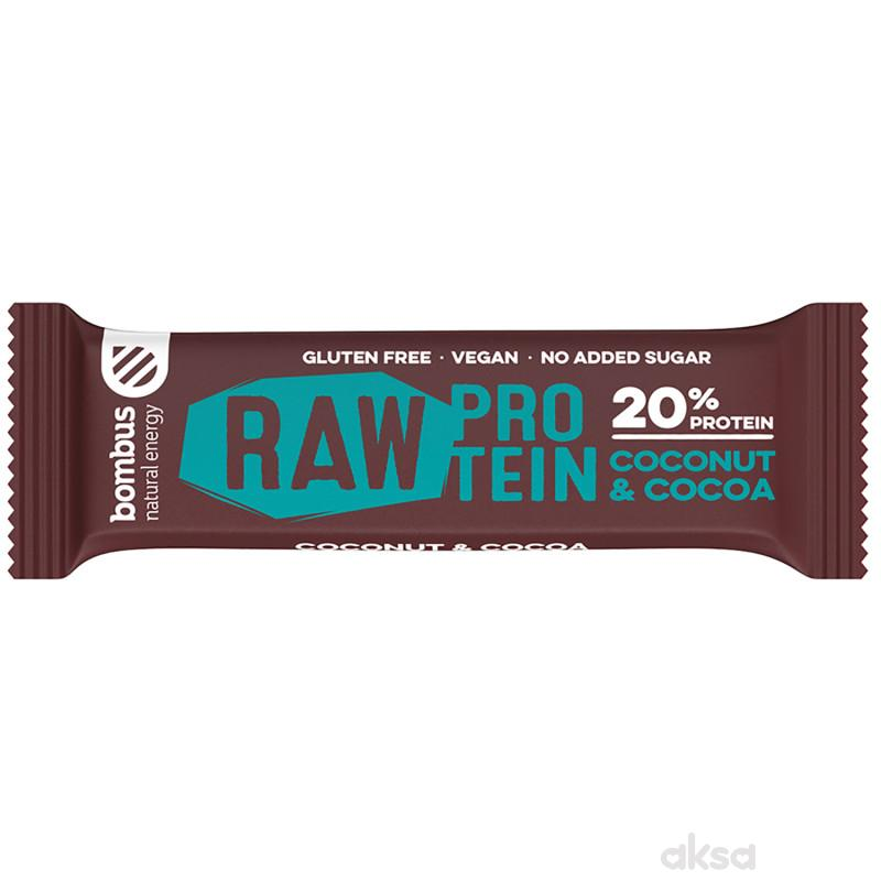 Bombus Raw Protein kokos&kakao 50g