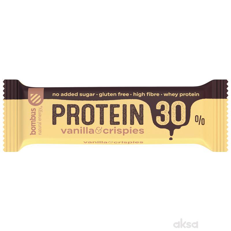 Bombus Protein 30% vanila&crispy 50g