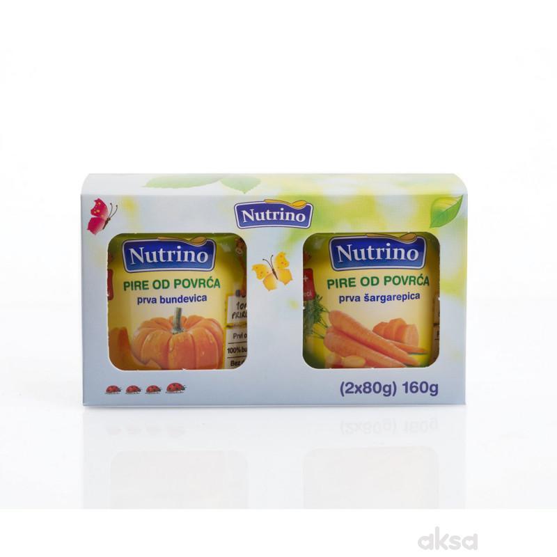 Nutrino dvopak prva bundevica/prva jabukica80g 1+1