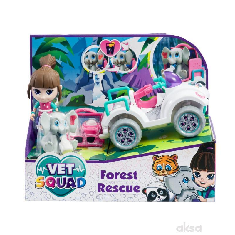 Vet squad igračka spasavanje - okean,šuma i greben