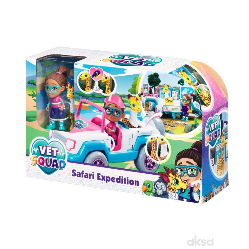 Vet squad igračka ekspedicija safari