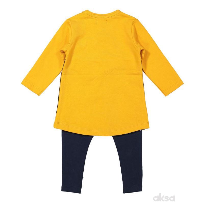 Dirkje komplet 2/1 (haljina, helanke), devojčice