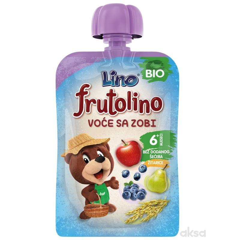 Lino bio pouch voće sa ovasom 100g