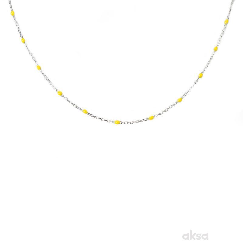 Silver line ogrlica AN309-Y-37