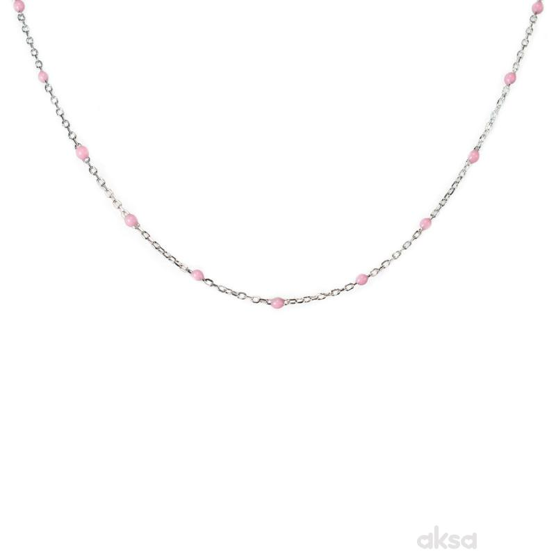 Silver line ogrlica AN3033-RO-37