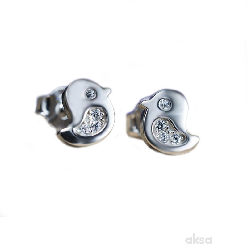 Silver line minđuše AE15952-Cl
