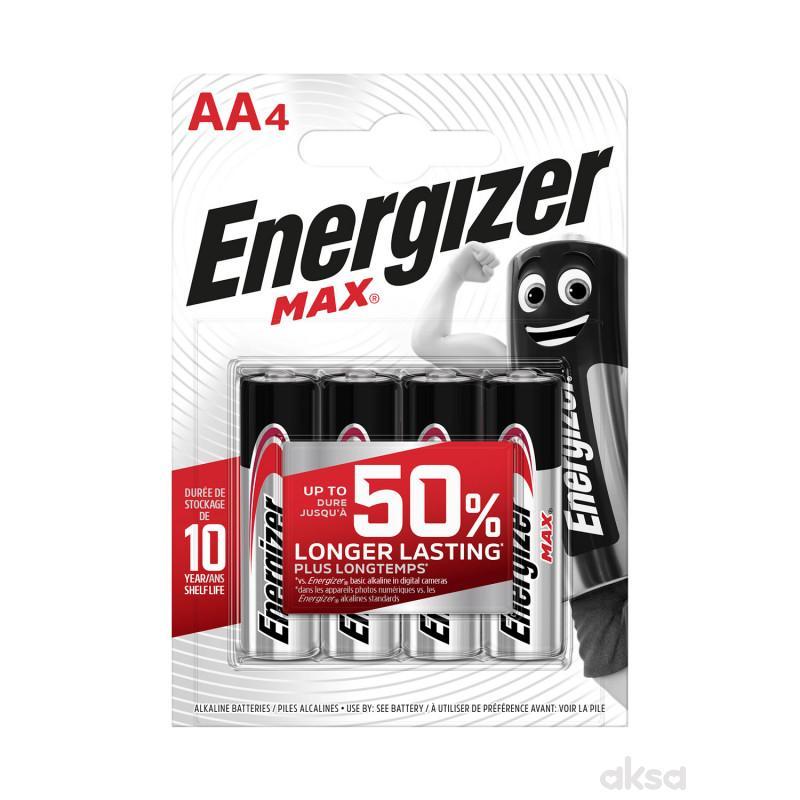 Energizer baterije max AA 4 kom AL