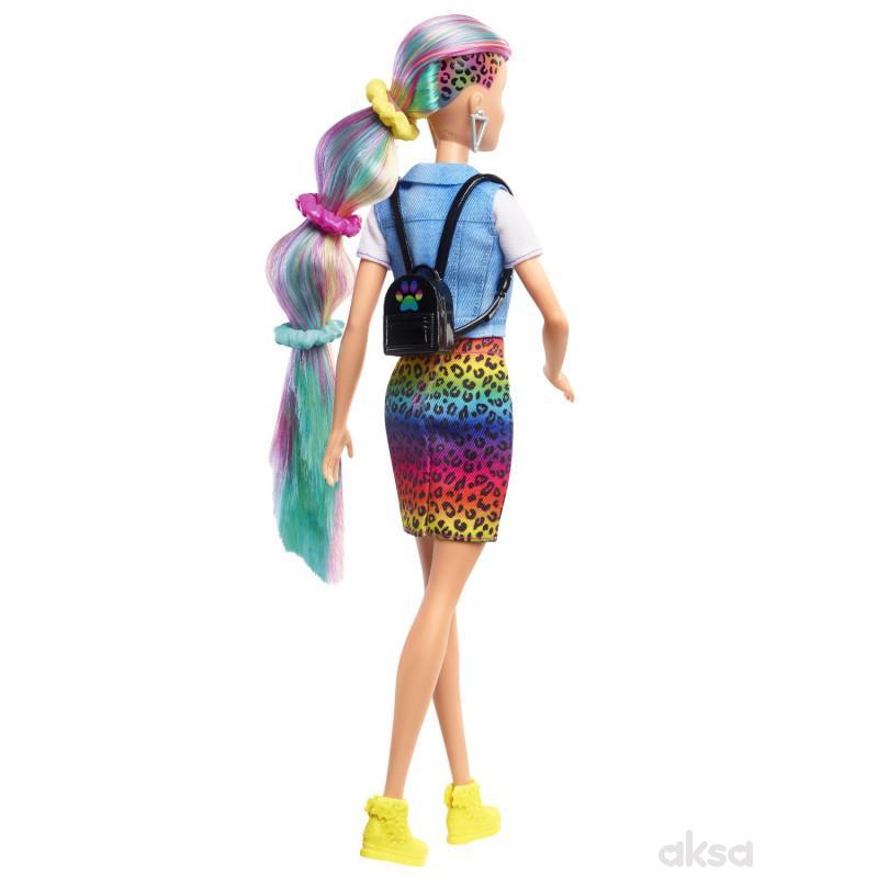 Barbie sa fantastičnom kosom duginih boja