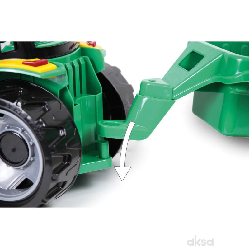 Lena igračka Maxi traktor sa lopatom i prikolicom