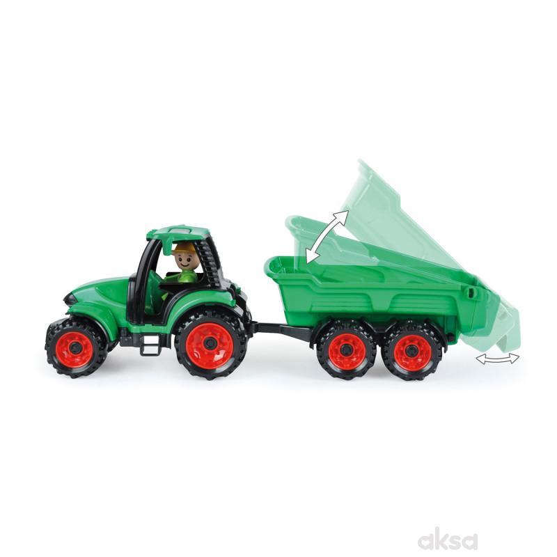 Lena igračka Truckies traktor sa prikolicom