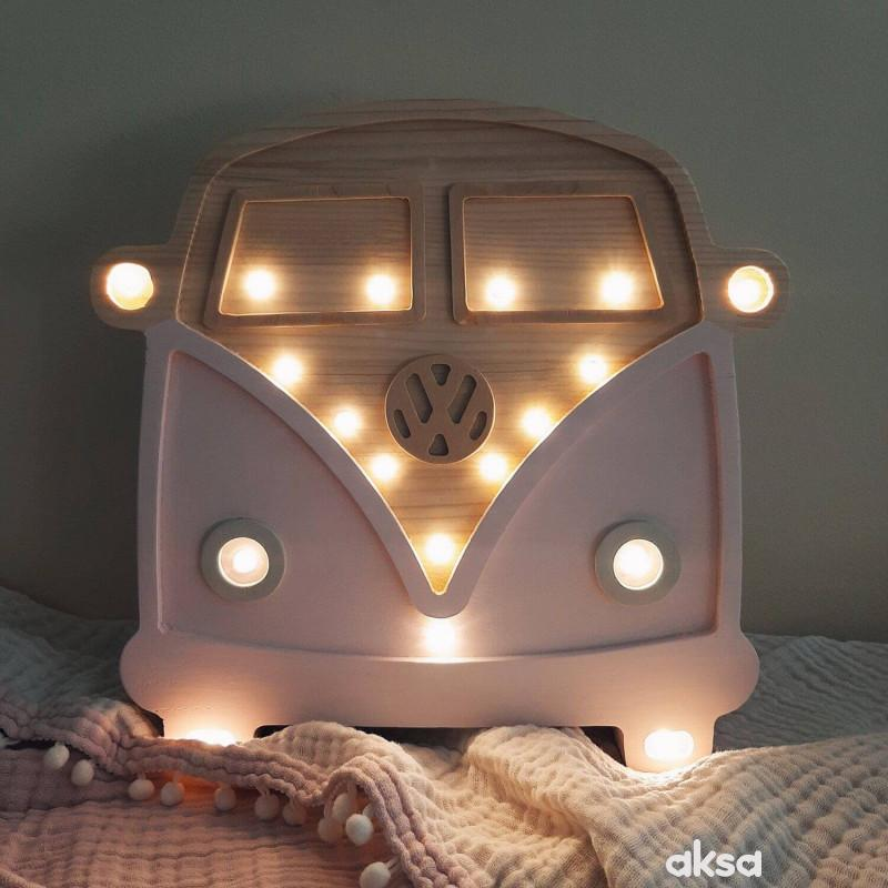 Two N Kombi LED lampa AA Roze