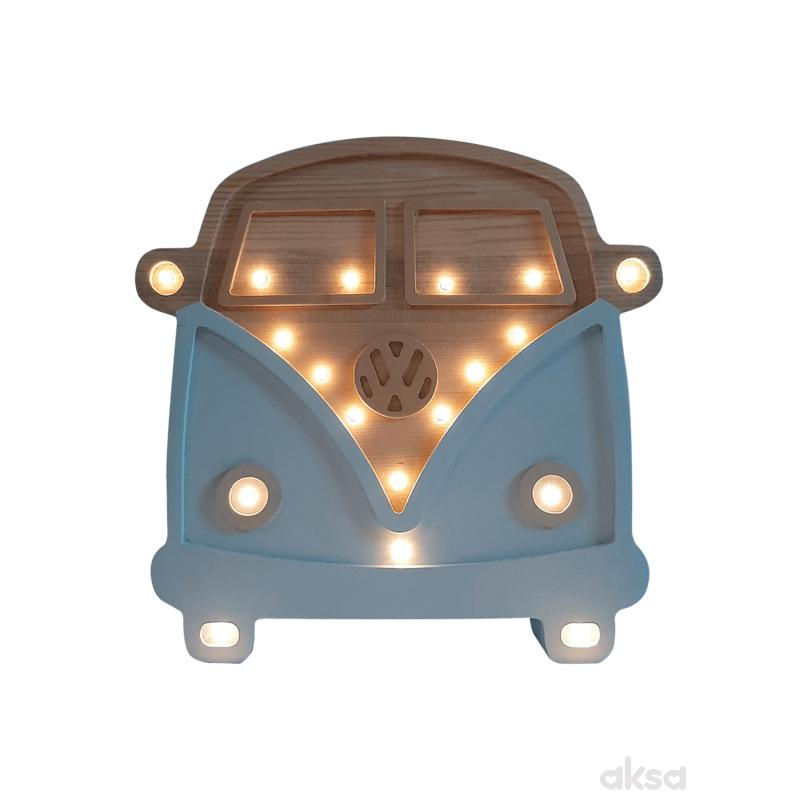 Two N Kombi LED lampa AA Plava