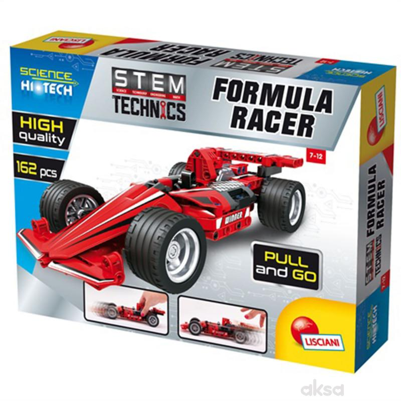 Lisciani HI-Tec konstruktor Formula GranPrix162pcs