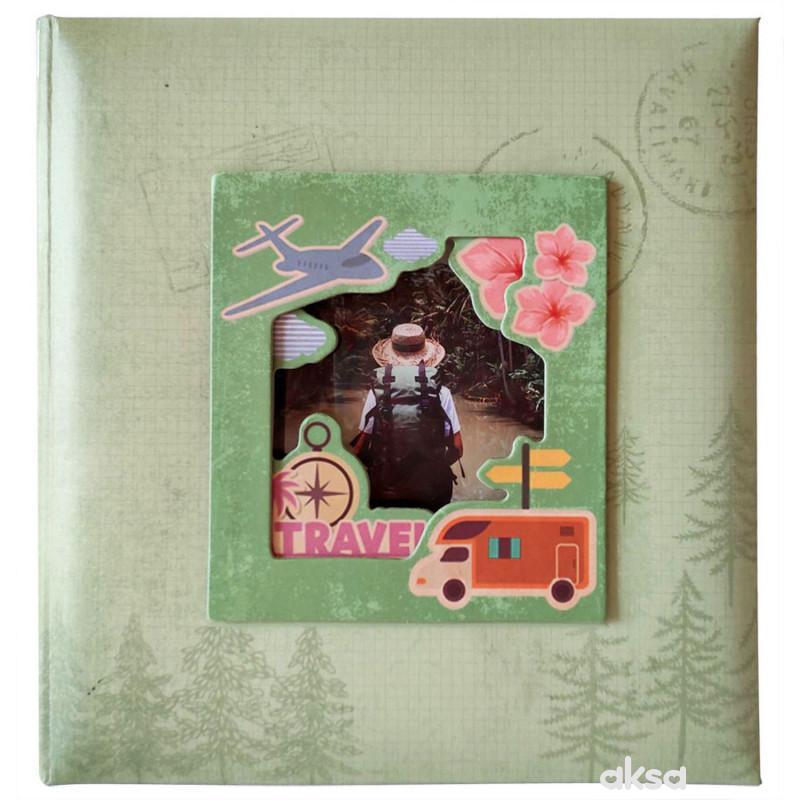 Album 10X15/200 Travel green