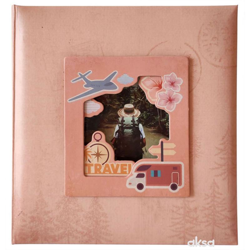 Album 10X15/200 Travel pink