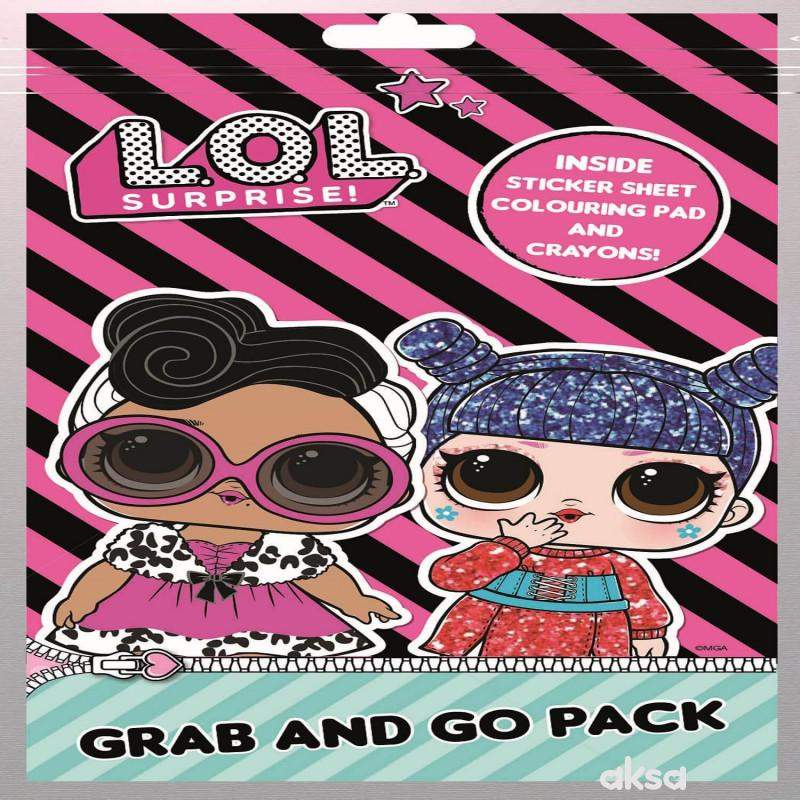 LOL - Mala bojanka sa bojicama i nalepnicama