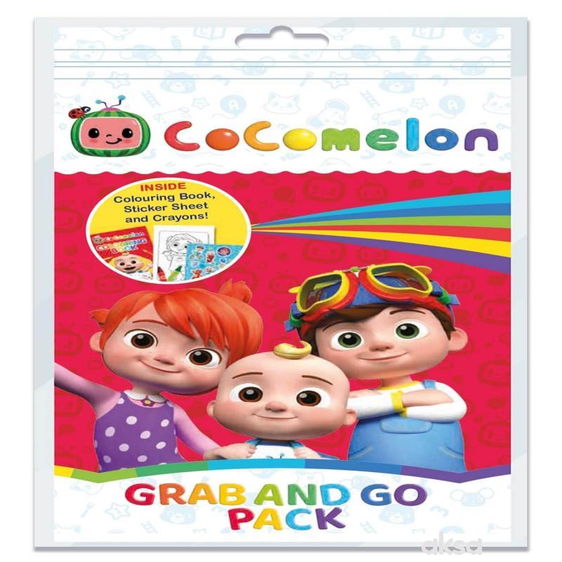Cocomelon - Mala bojanka sa bojicama i nalepnicama