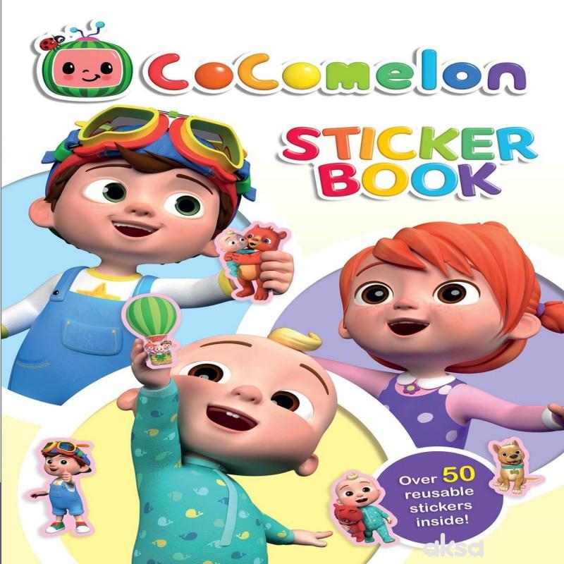 Cocomelon - Bojanka sa nalepnicama  1
