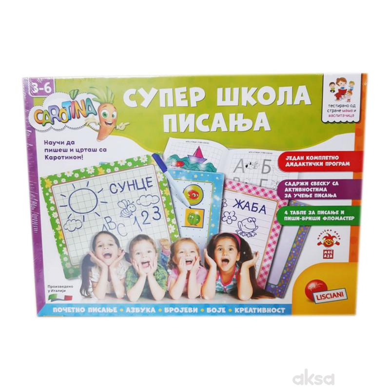 Lisciani Edukativna igra Super skola pisanja