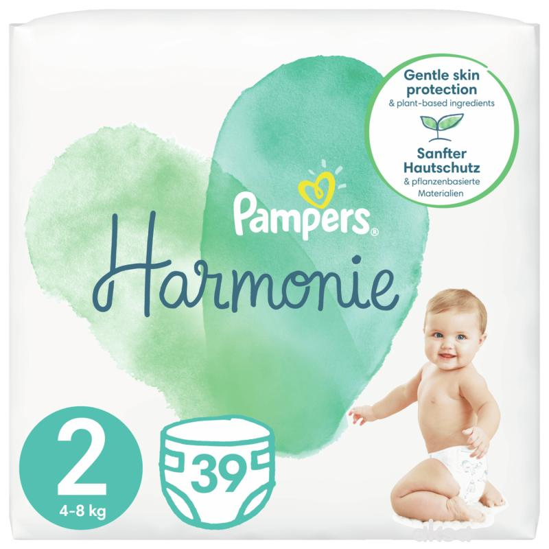 Pampers Harmonie S2 mini 4-8 kg 39kom