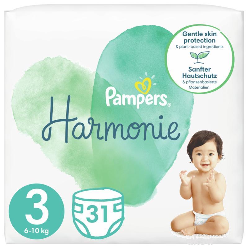 Pampers Harmonie S3 midi 7-13kg 31 kom