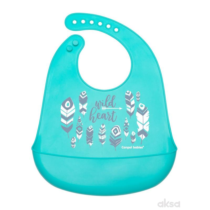 Canpol babies sil portikla sa džepom nature plava