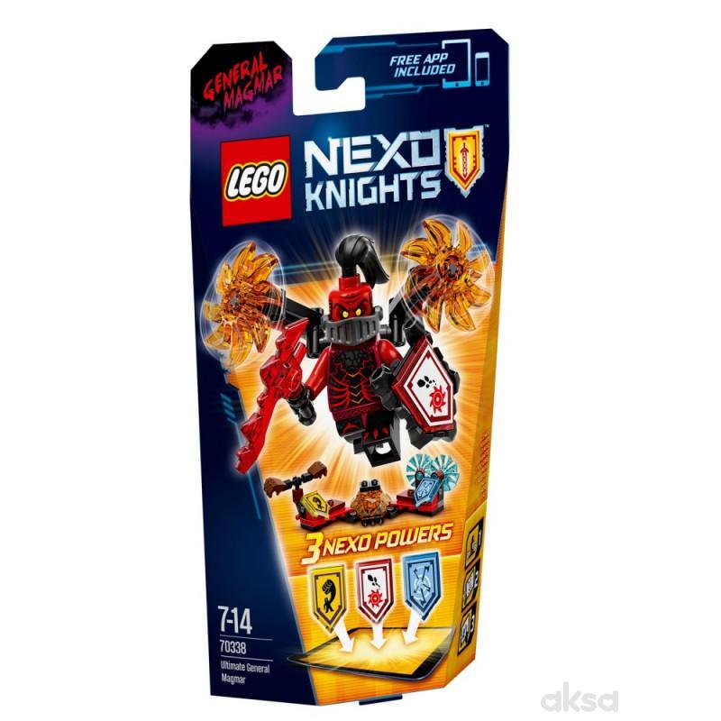 Lego Nexo knights ultimate general magmar
